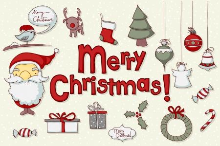 caramelos navidad: Relacionados con la Navidad del doodle para su dise�o