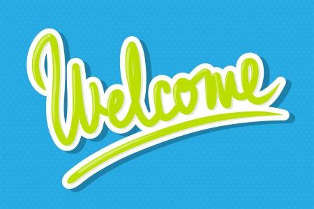 bienvenida: La palabra