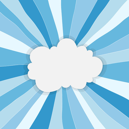 Abstract cloud background with space for your message