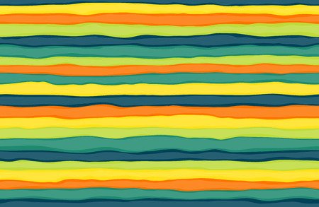 tileable: Seamlessly tileable pattern of colorful handdrawn stripes