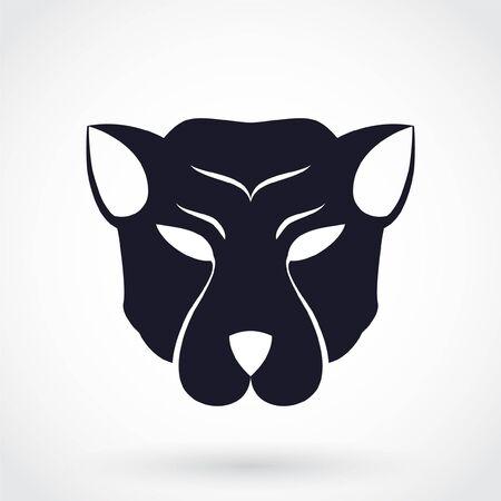 animal head silhouette logo