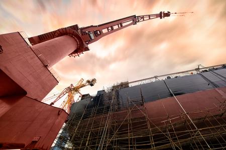 ship building plant