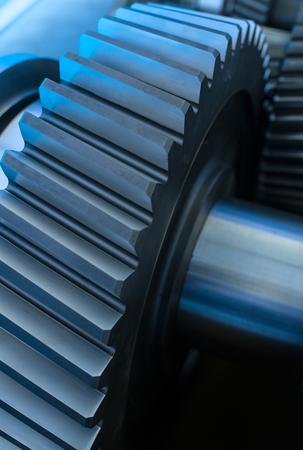 モーターの大きい歯車車輪