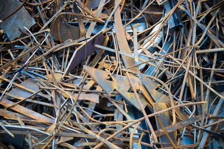 Scrap Metal as background