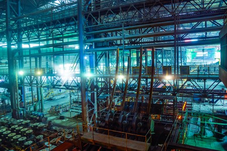 A workshop in a steel plant