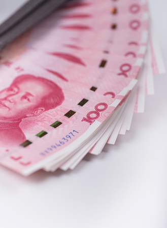 paper money of china Stock Photo