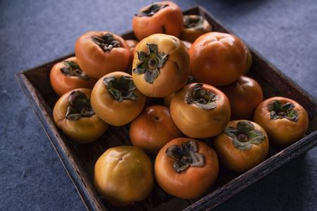 Fresh crisp persimmon
