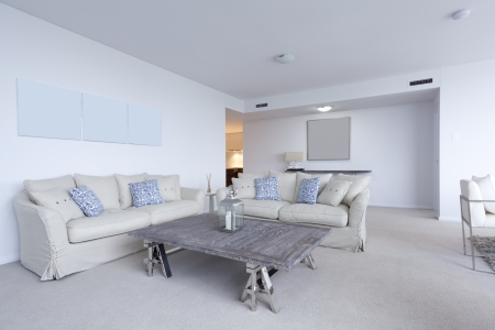 Stylish living room in modern appartment Stock Photo - 14179821