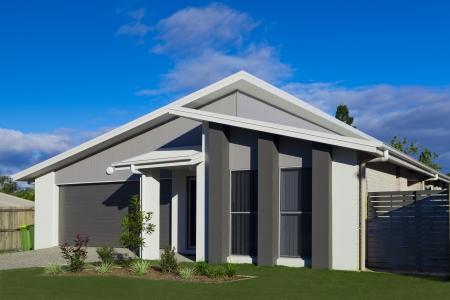 house facade: Australian suburban townhouse