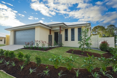 townhouse: New suburban Australian townhouse
