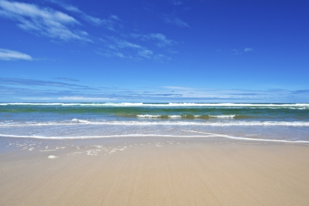 Pristine australian beach in summertime Stock Photo - 16834387
