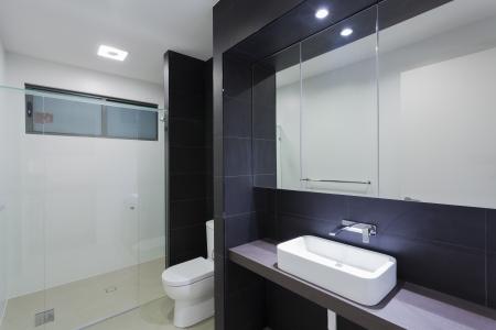 Modern bathroom in stylish Australian home Stock Photo - 18432726