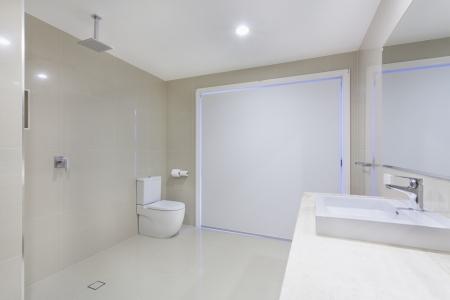 Stylish minimalist bathroom Stock Photo - 20020986