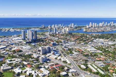 Aerial view of Southport, Queensland, Australia Stock Photo - 20412660