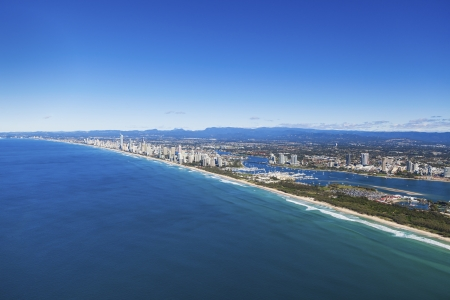 Aerial view of Gold Coast, Queensland, Australia Stock Photo - 20412667