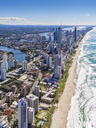 Aerial view of Gold Coast, Queensland, Australia Stock Photo - 20412650