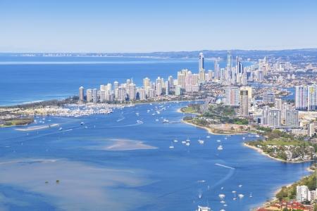 Luftaufnahme der Gold Coast, Queensland, Australien Standard-Bild - 20412739