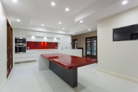 New modern minimalistic kitchen Stock Photo - 23727631