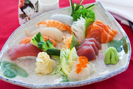 Mixed sashimi palatter