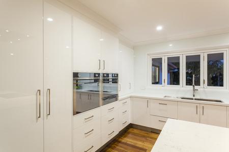 ultra: New ultra modern kitchen in stylish house