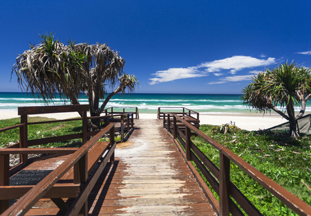 Amazing sunny day on the Gold Coast, Australia Stock Photo