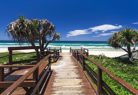 tropicale: Incroyable journée ensoleillée sur la Gold Coast, Australie