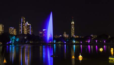 qld: Glow Festival lights up the Gold Coast in Australia