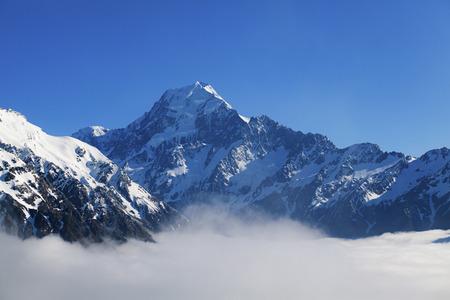 cocineros: Aoraki Monte Cook en Nueva Zelanda del Sur Jsland