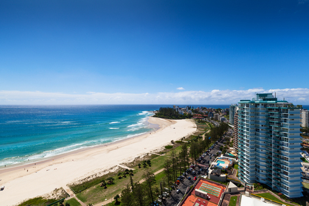 goldcoast: Sunny view of Coolangatta on the Gold Coast