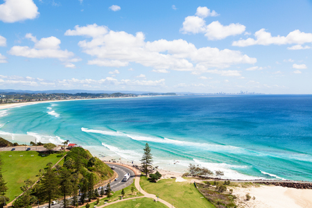 Kirra Beach on the sunny Gold Coast