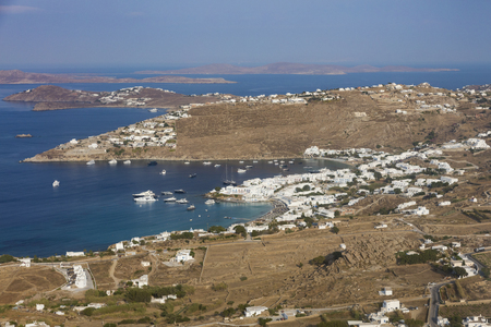 paradise bay: Paradise Beach on Mykonos Island, Greece