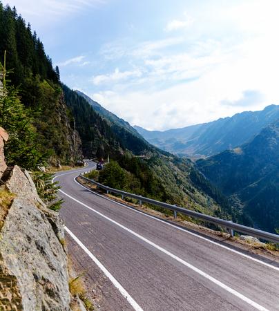 voyage: The scenic Transfagarasan highway in Romanias Carpathian Mountains