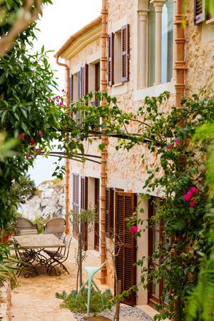 Traditionelles spanisches Finca Haus aus Mallorca, Spanien Lizenzfreie Bilder