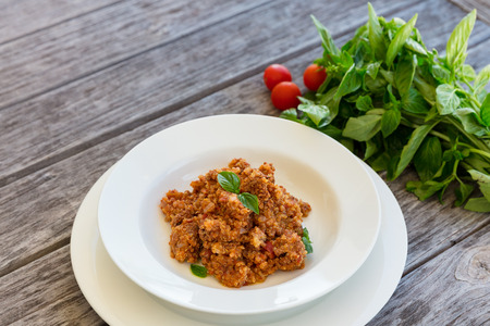 Quinoa cooked in crock pot, healthy low fat meal