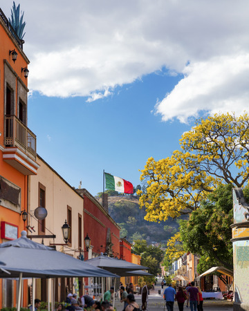 The historic town of Tequila, Jalisco, Mexico