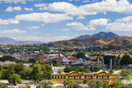 The historic town of Tequila, Jalisco, Mexico 版權商用圖片 - 93783836