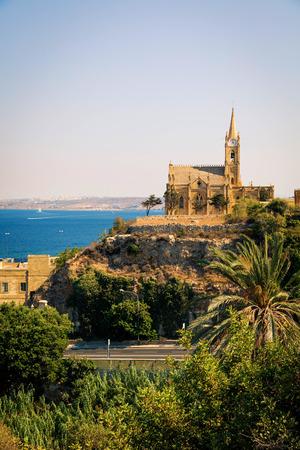 Lourdes Chapel on the island of Gozo in Malta