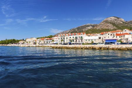 The town of Bol on the island Brac, Croatia