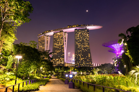 Gardens by the Bay in Singapore, Marina Bay