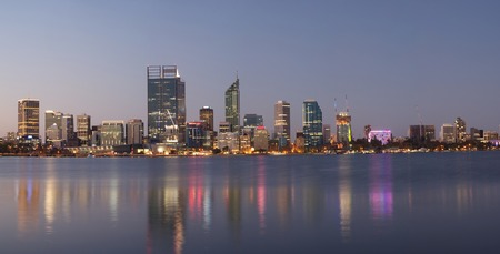 Panorama of Perth, Western Australia photo