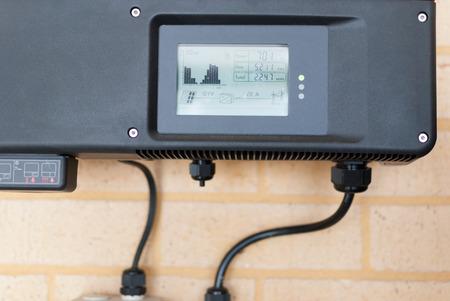 Solar inverter installed in an Australian home