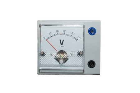 Voltmeter isolated