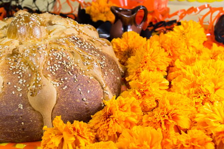 Dead bread and flowers