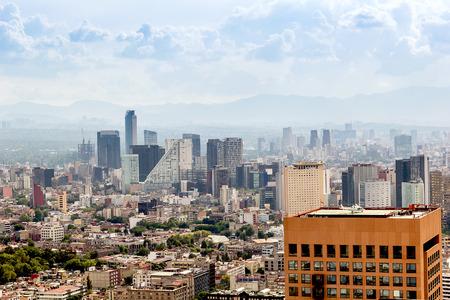 Mexico City landscape view Sajtókép