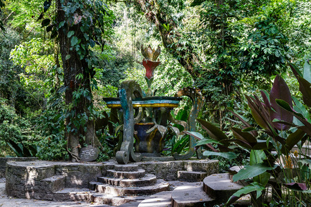 Edward James Garden At Xilitla, Mexico Stock Photo, Picture And ...