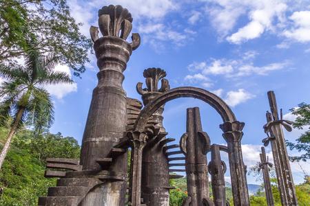 Edward James Garden at Xilitla, Mexico