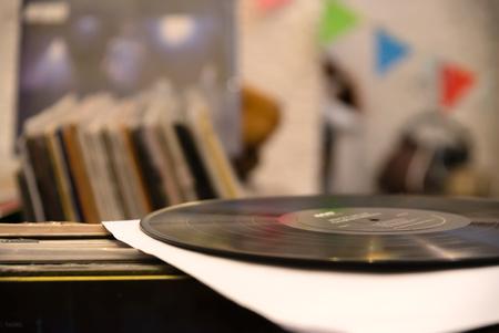 vinyl record - store