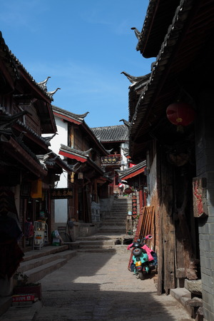 roofed house: Lijiang
