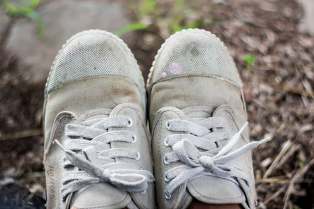 doublet: Old shoes