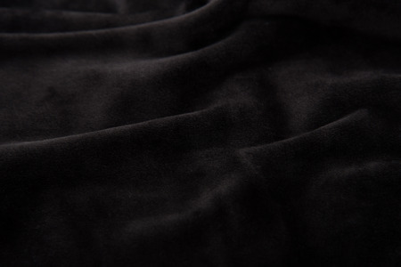 Close up of beautiful black velvet texture background. Stock Photo - 56886015